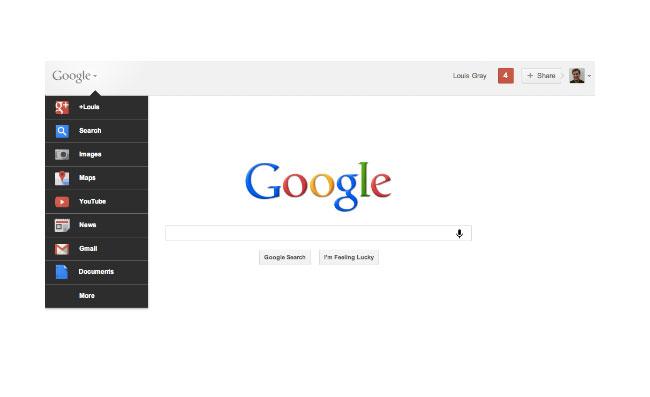 Google Bar Redesign