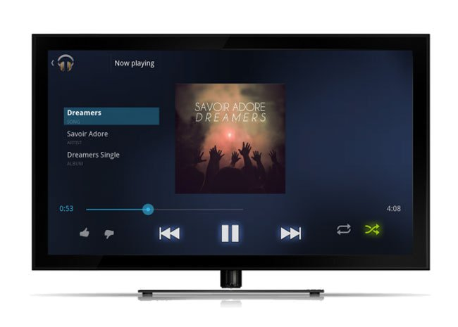 Google Music TV App