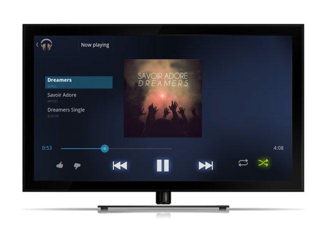 Google Music TV App