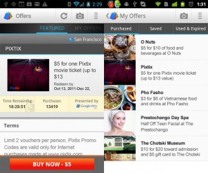 Google Offers Android App Announced