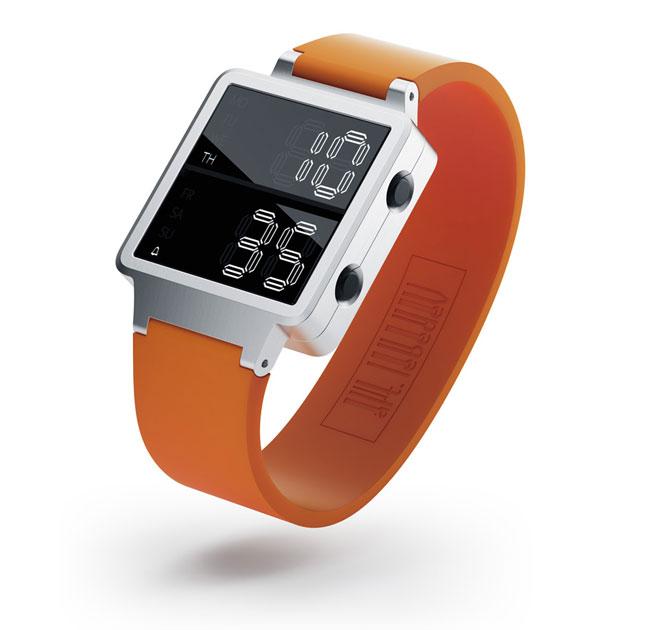 Integralus Digital Watch Concept