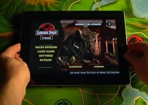 Jurassic Park Game Lands On the iPad 2 (Video)