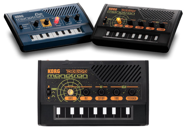 Korg Duo And Delay Monotrons