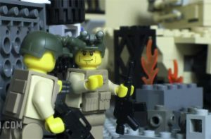 Lego Modern Warfare 3 Stop Motion Trailer (video)