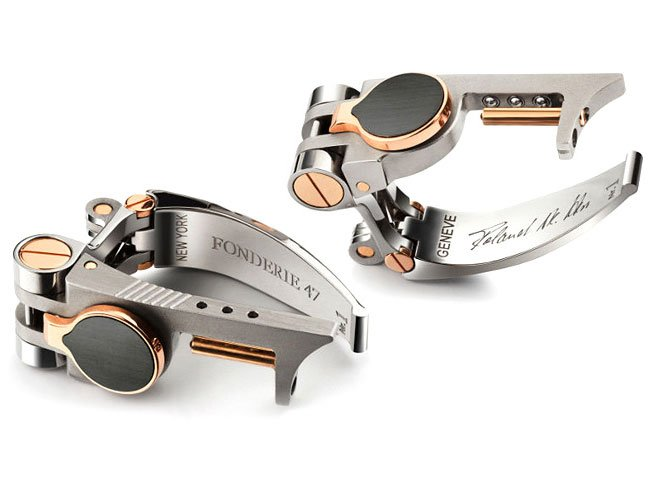 Limited Edition Cufflinks Made From AK-47s
