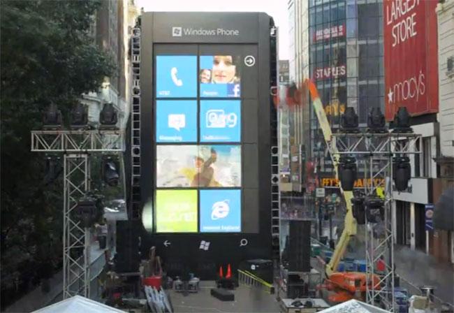 Microsoft 6 Storey Windows Phone