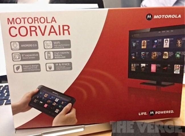 Motorola Corvair Android TV Controller