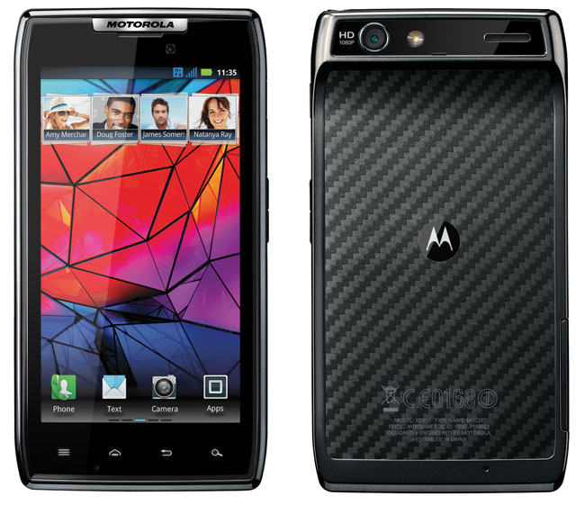 Motorola RAZR Lands In The UK Tomorrow