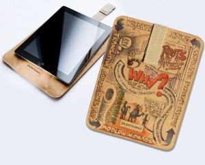 Papernomad Biodegradable Doodle Cases For iPad