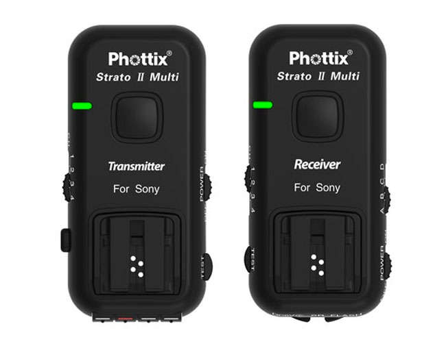 Phottix Strato II flash triggers
