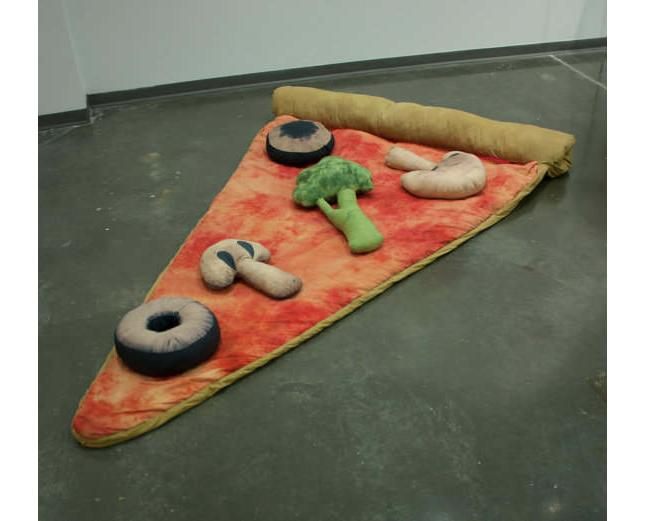 Cute Slice Of Pizza Sleeping Bag Costs A Bundle