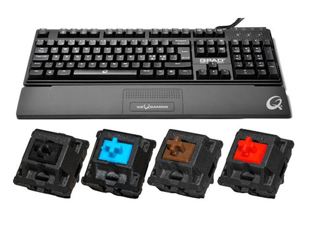 QPAD MK-85 gaming keyboard