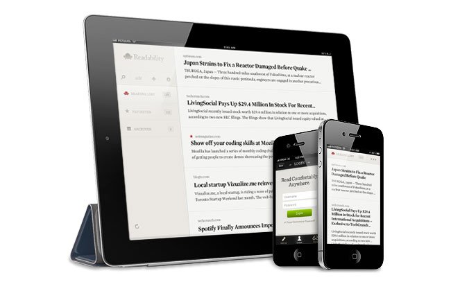 Readability iOS Apps