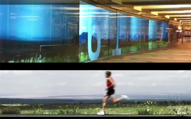 Ryan Hall Video Wall