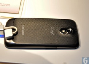 Samsung Galaxy Nexus Android 4.0 ICS Features In Action (Video)