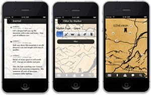 Elder Scrolls V: Skyrim Dragon Shout iPhone App