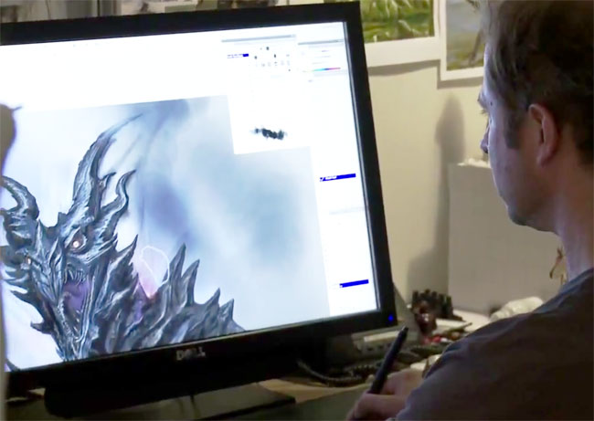 Skyrim Making of