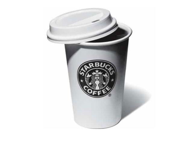 Starbucks one-touch mobile app