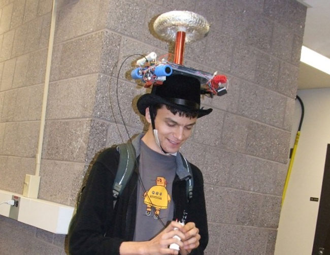 Tesla Coil Musical Hat