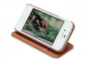 Tunefolio Leather iPhone 4S Case