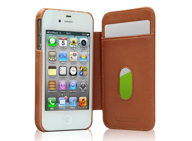 Tunefolio Leather iPhone 4S Case