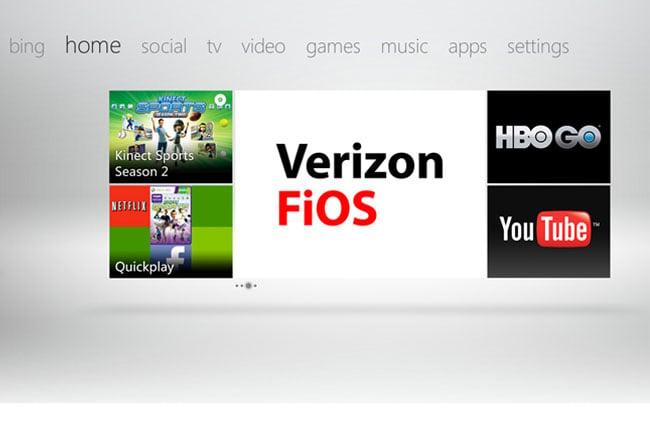 Verizon FiOS Xbox 360