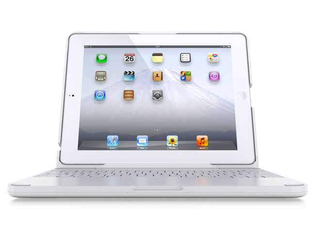 White iPad-2 Clamcase