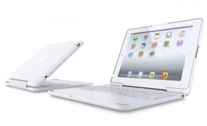 Clamcase White iPad 2 Keyboard And Stand Case Unveiled (video)