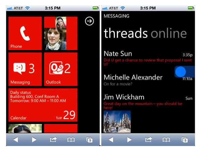 Windows Phone 7 Mango Demo