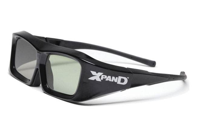 XPAND 3D active shutter glasses