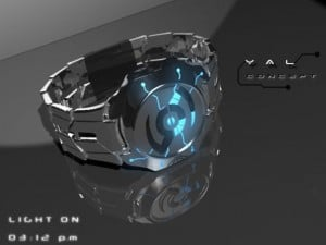 YAL Concept Watch Inspired By Tron