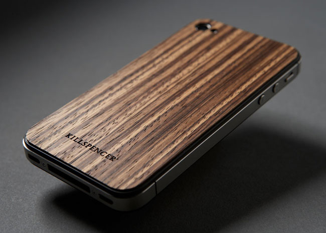 Zebrawood Veil Protects Your iPhone 4S And iPhone 4