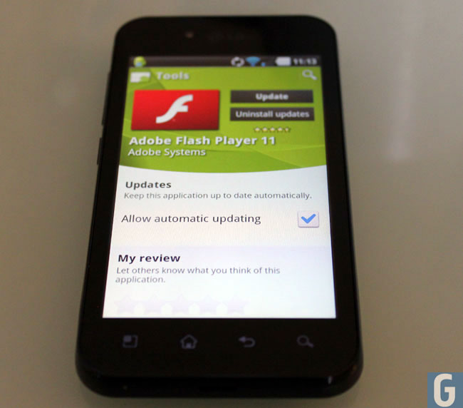 Adobe Flash Mobile