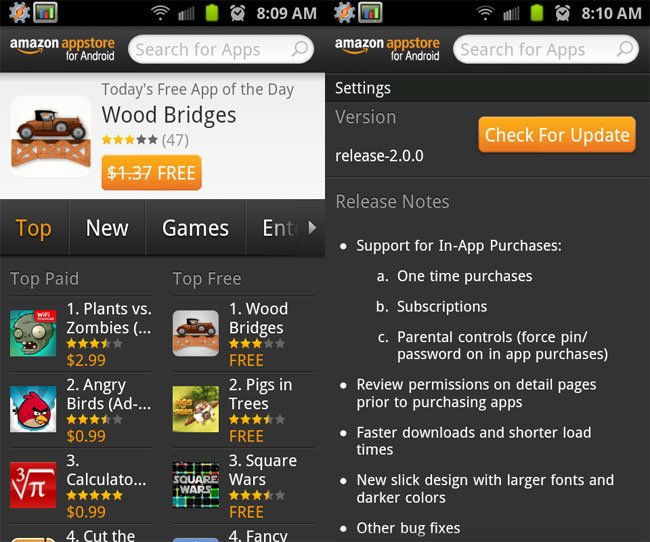 Amazon Appstore For Android Updated Ahead Of Kindle Fire Launch
