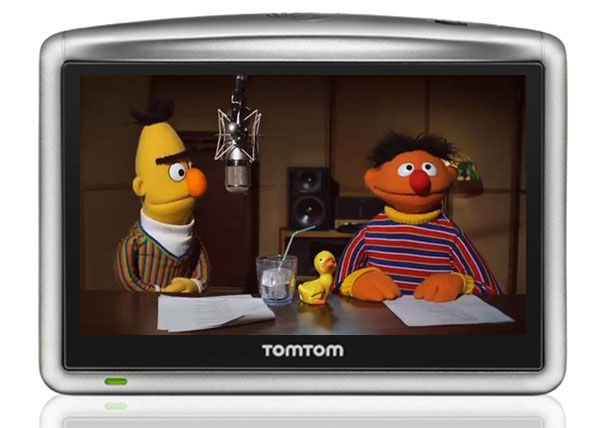 Sesame Street's Bert And Earnie Voices Headed To TomTom (Video)