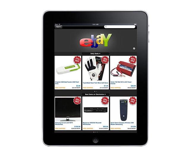 eBay iPad App
