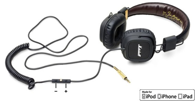 Marshall FX Headphones