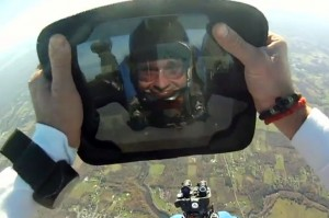 G-Form Protects And iPad From A 1300 Foot Drop