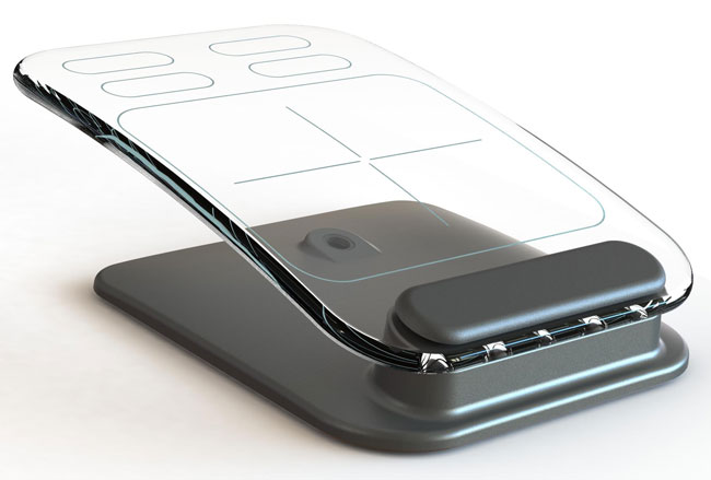 Multi-Touch Glass Keyboard And Mouse