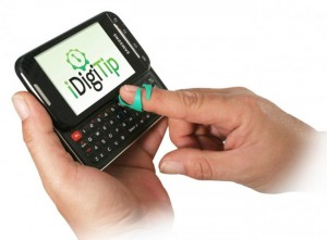 iDigitip Allows Larger Fingers To Press Small Keys