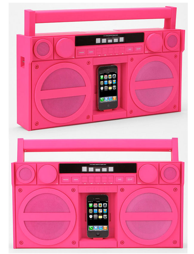 iHome iP4 Boombox