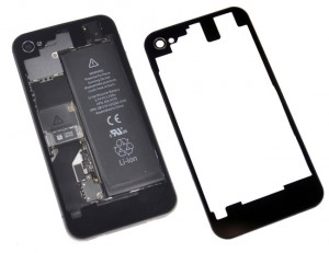 iPhone 4S Transparent Rear Glass Panel (video)