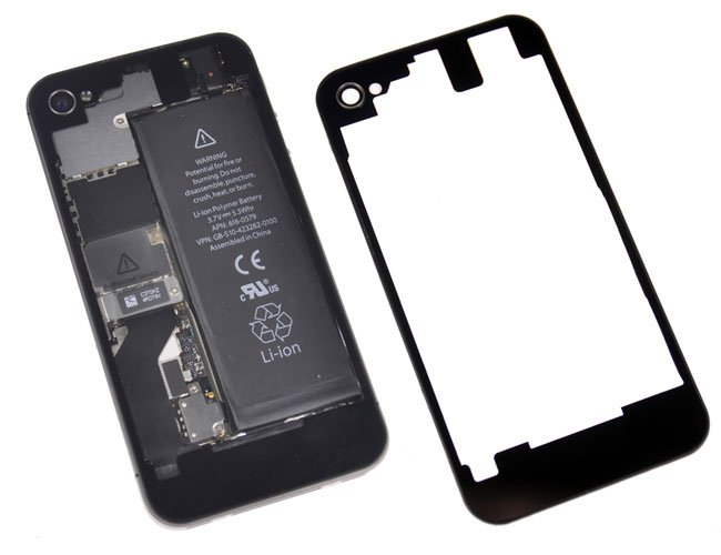 iPhone 4S Transparent Rear Glass Panel