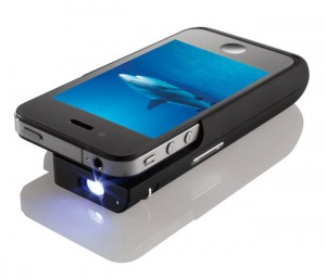 iPhone Pocket Projector Case Unveiled By Texas Instruments And BrookStone