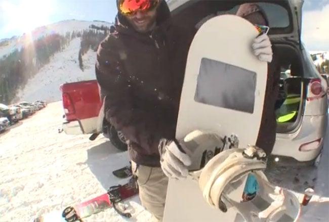 iShred Snowboard