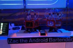 Meet iZac The Android Bartender