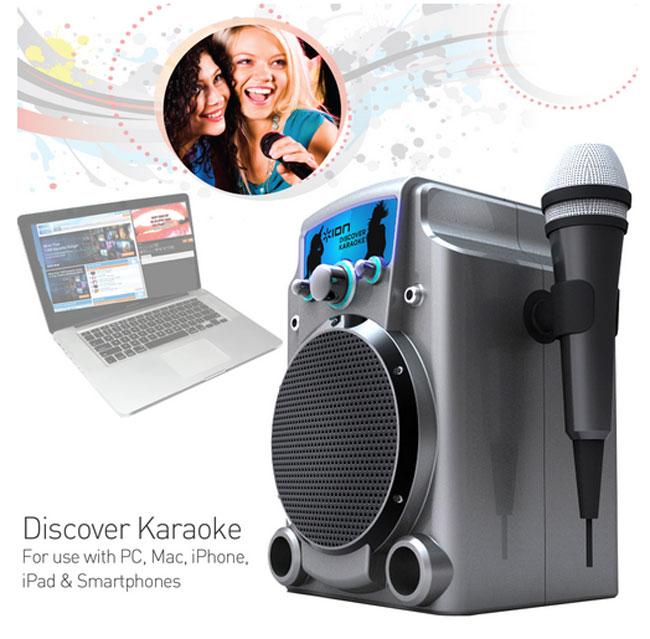 ION Discover Karaoke