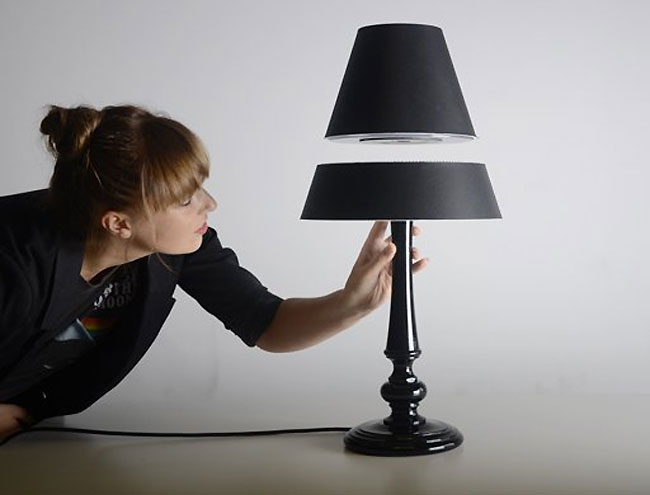 levitating lamps