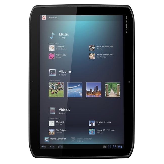motorola xoom 2 and xoom 2 media edition tablets announced. Black Bedroom Furniture Sets. Home Design Ideas