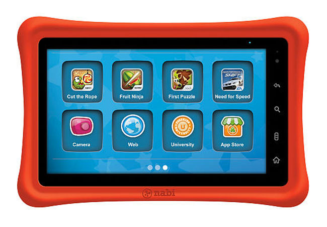 Toys R Us Launching Kids Friendly Nabi Android Tablet